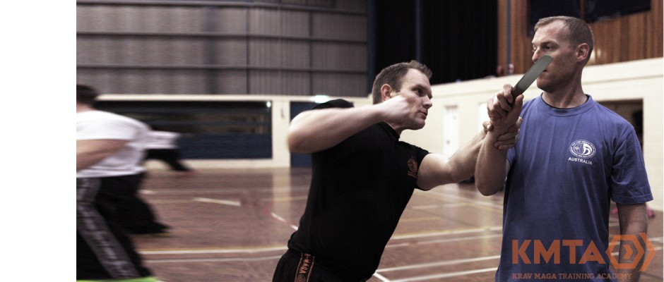Krav Maga Knife Threat Front Brisbane