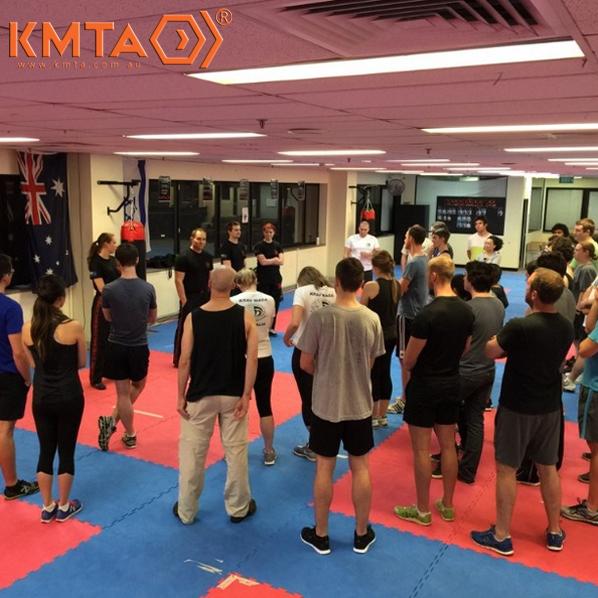 KMTA Brisbane City Foundation Krav Maga Class